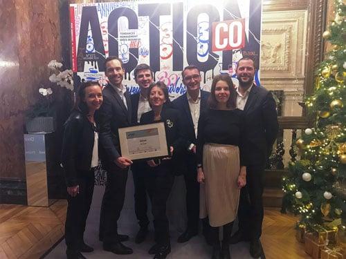 meilleure force de vente de l'année Action Co trophées Cpm France Microsoft